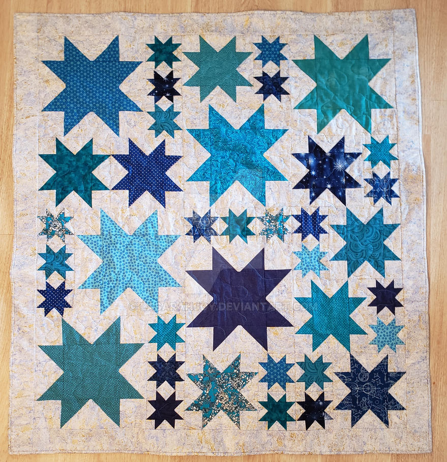 Baby Quilt by lasarahjoy