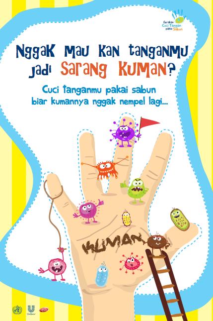Poster Kampanye Cuci Tangan By Tientoon On Deviantart