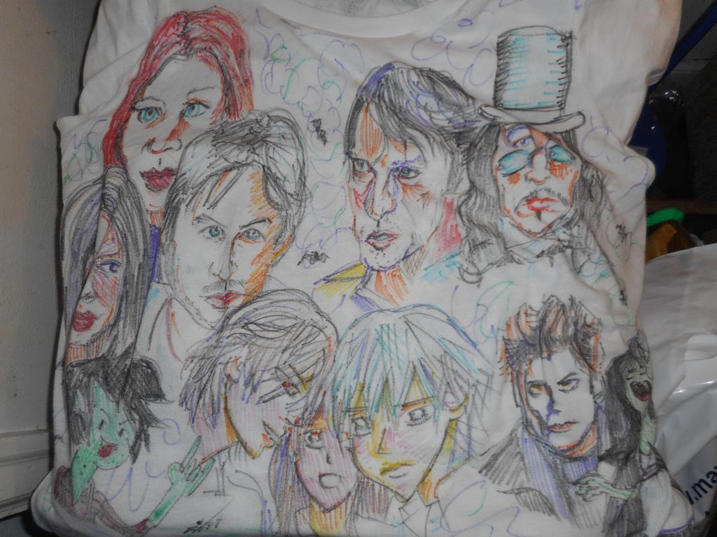 Fan tee :Covered in Vampires by fbforbill