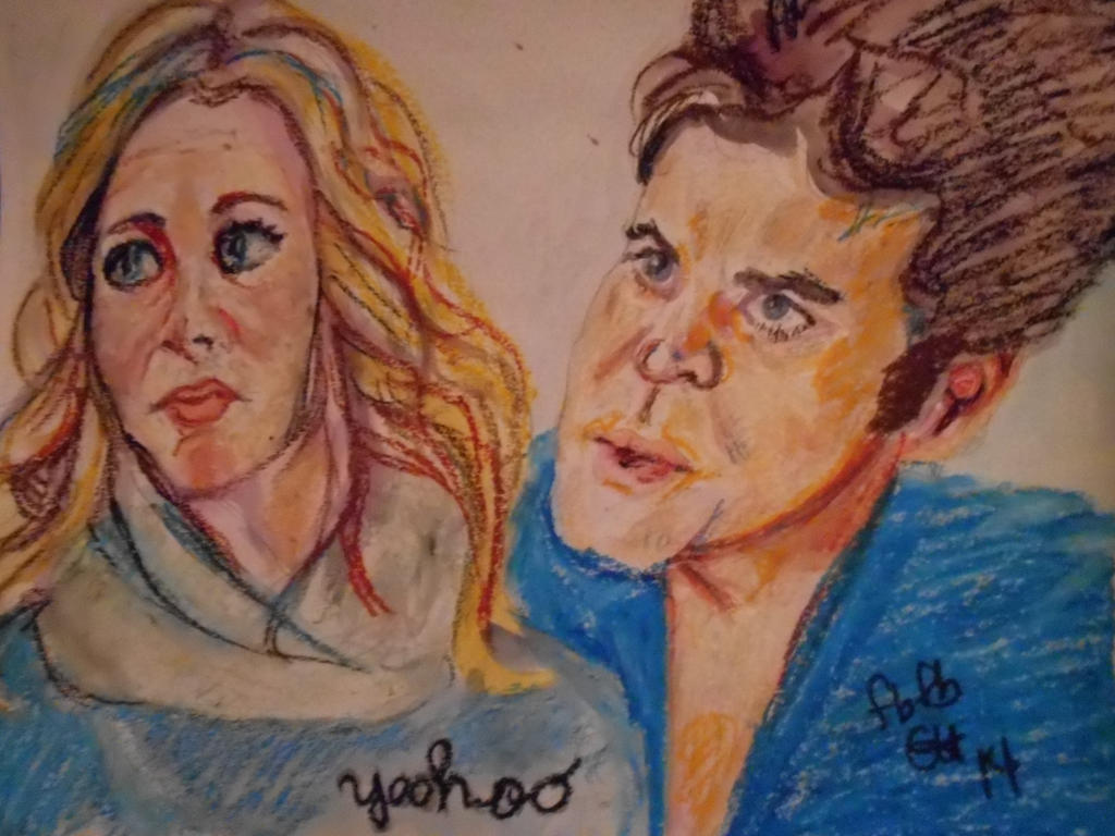 Stefen And Caroline In Oil 008 by fbforbill