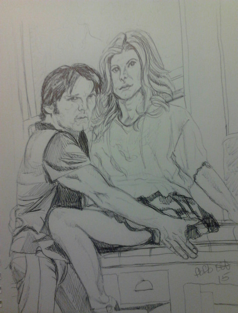 Stephen and Anna by fbforbill