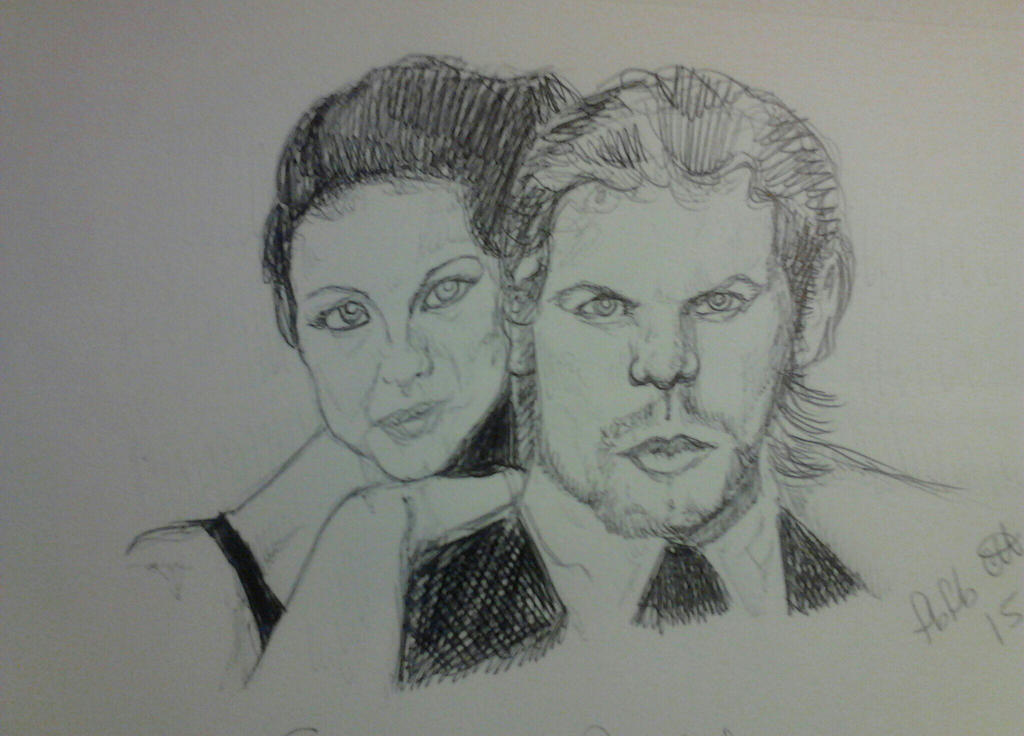 Sam and Cait by fbforbill