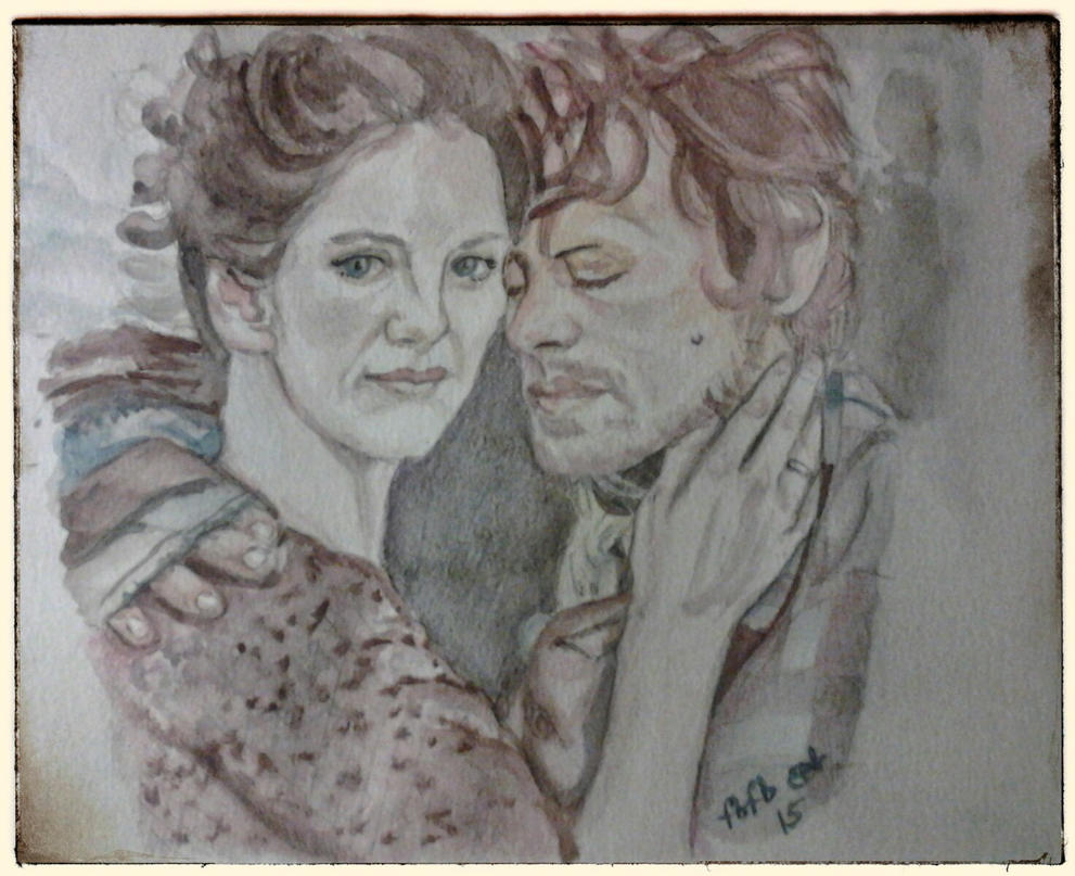 Mr. and Mrs. Frasier II : watercolor by fbforbill