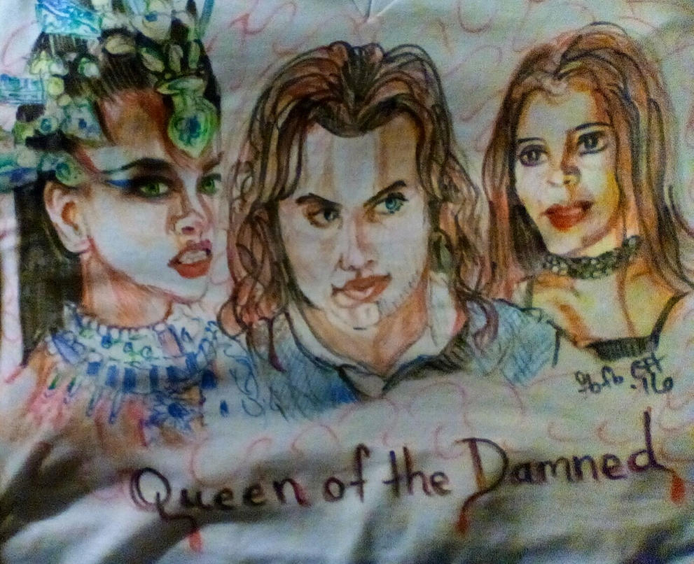 Queen of the Damned by fbforbill