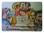 Captain Swan tee by fbforbill