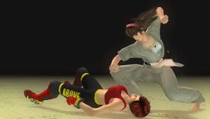 Judo vs MMA Finish her!