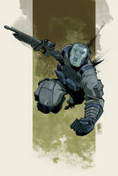 Ballistic Trooper by 7377