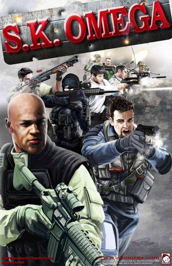 S.K. OMEGA Poster Art by 7377
