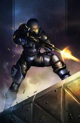Virus Ballistic Trooper by 7377