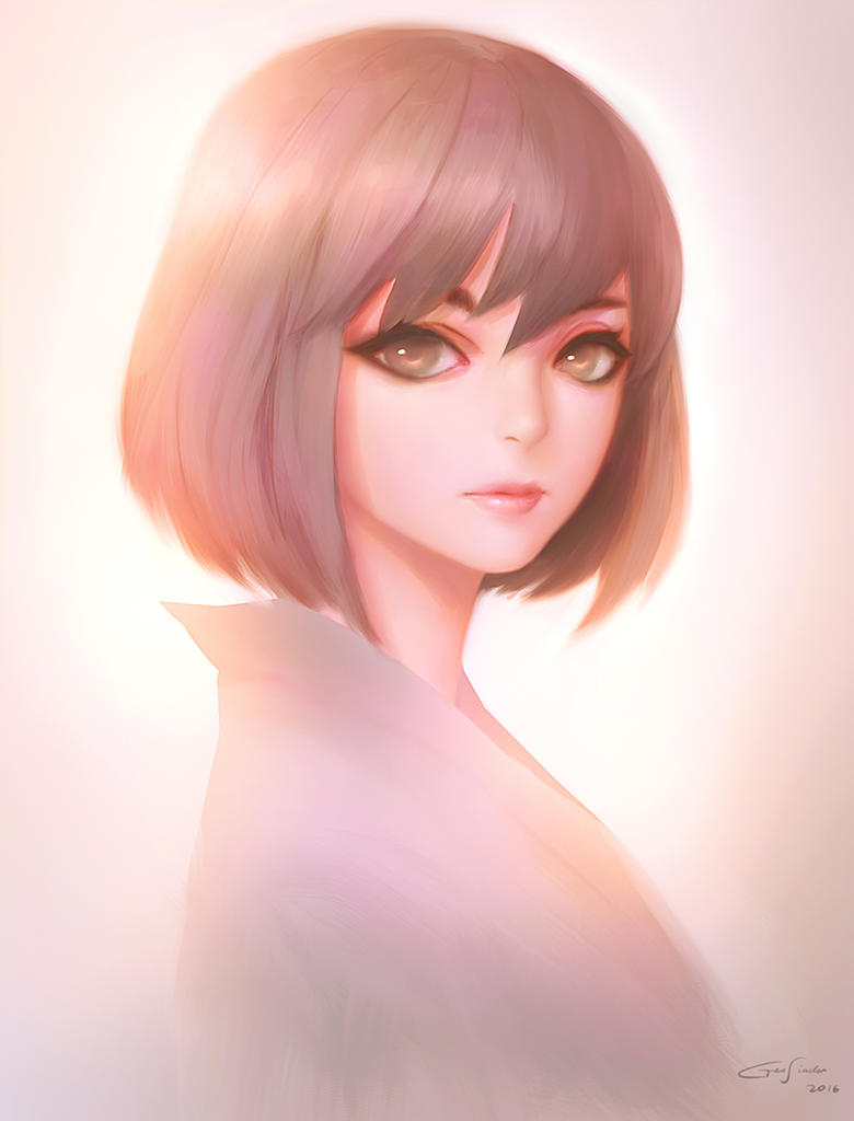 Girl Portrait by ep1cc15