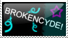 Brokencyde Stamp by AlanaxUchiha