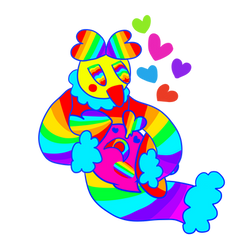 Lovey Dovey Colors (Commission)