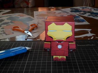 Iron Man - Papercraft by jaredann