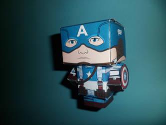 Captain America - Papercraft by jaredann