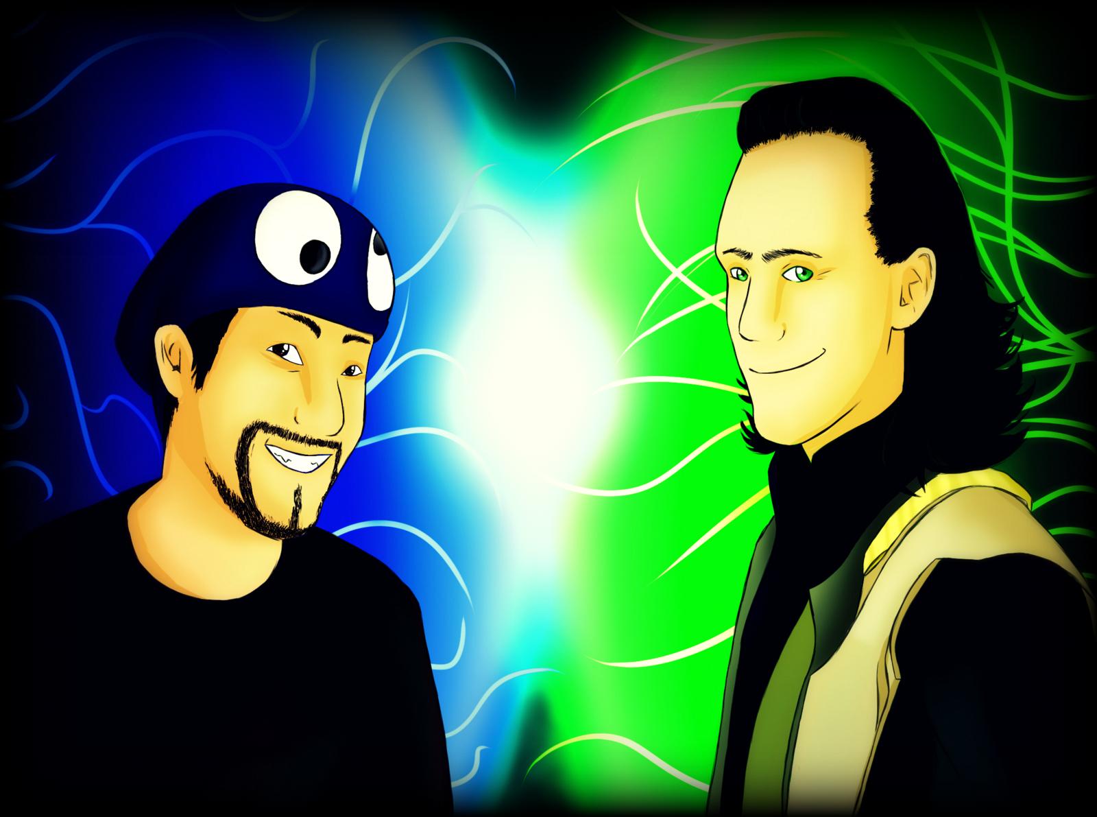 Uberhaxornova and Loki Laufeyson by Kaabi96 on DeviantArt Uberhaxornova Fan Art