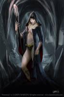 Sorceress by LaminIllustration