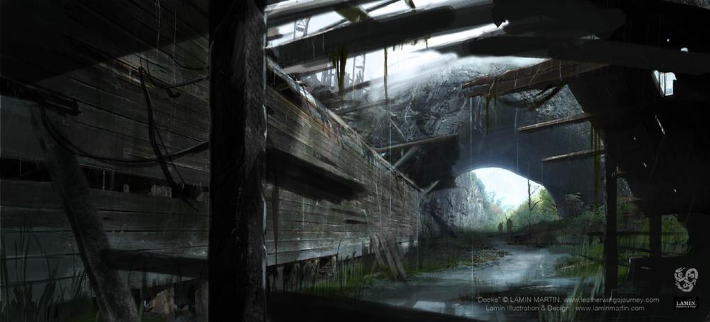 Docks by LaminIllustration