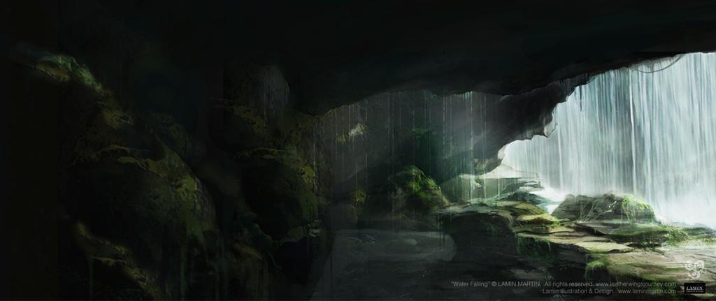 Water Falling by LaminIllustration