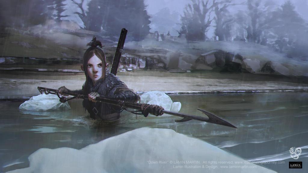 Down River by LaminIllustration