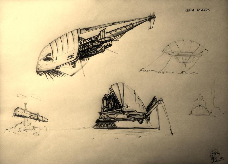 Thrive underwater concepts by Gotrol