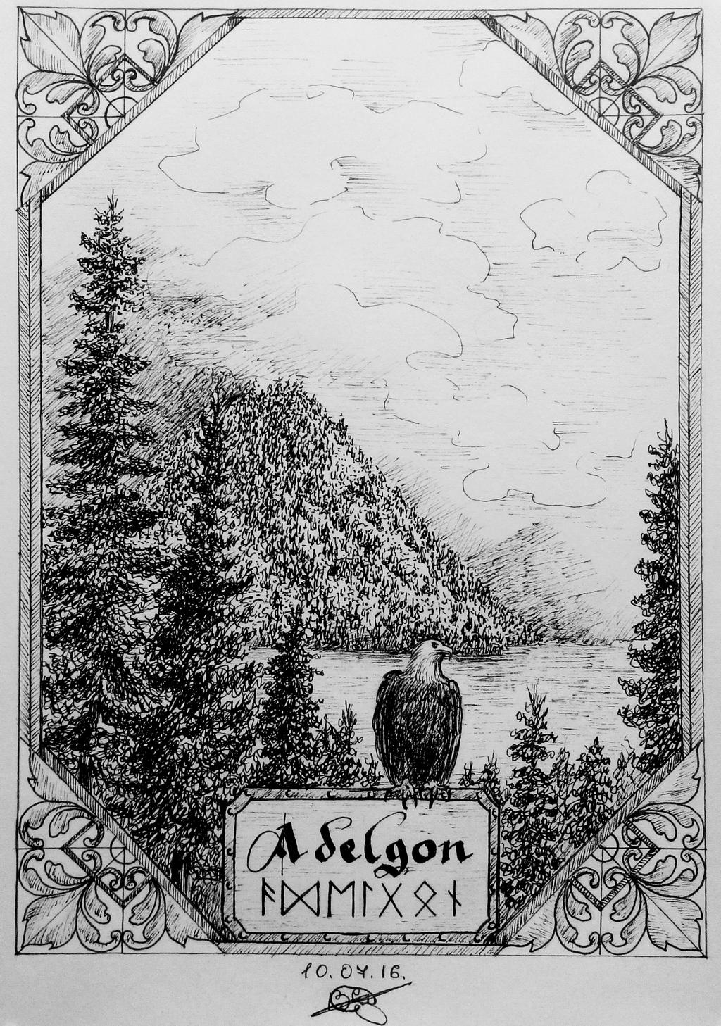 Adelgon #10 by long-haired-lady