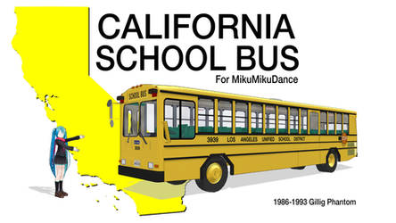 MMD - California School Bus DL