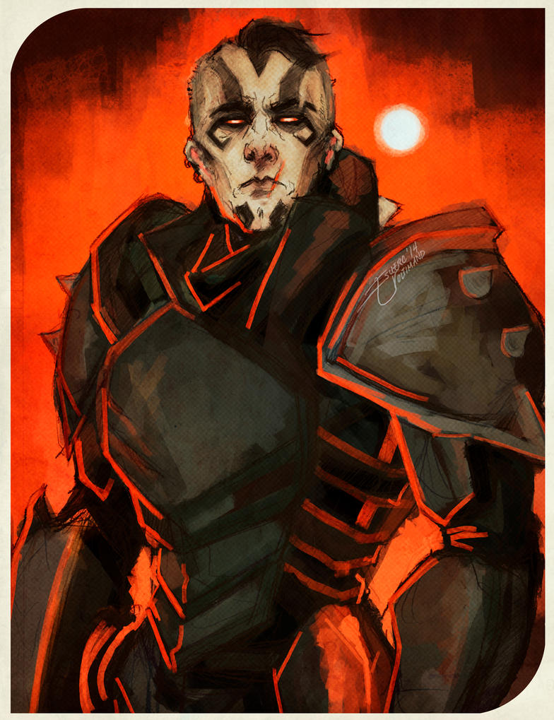 Human!Lockdown Armoured by Esuerc