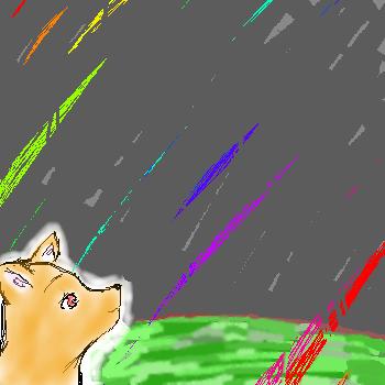 Meteor Shower by KishiFishy