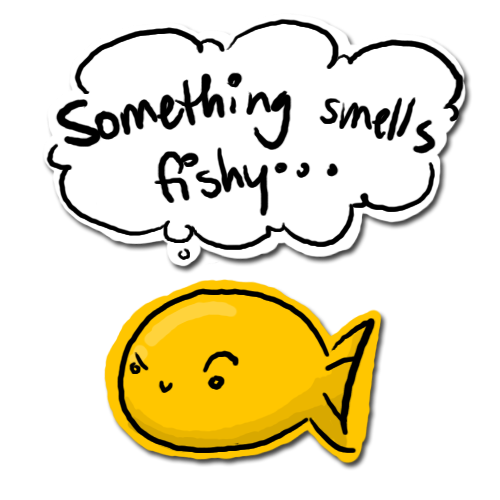 Something smells fishy by kishifishy on deviantart for Why does my pee smell like fish