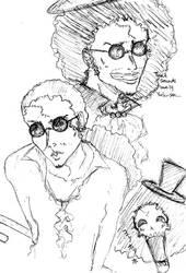 Brook Sketches by KikkoPirate