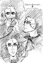 Brook Sketches 2 by KikkoPirate