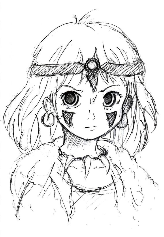 Princess Mononoke by KikkoPirate