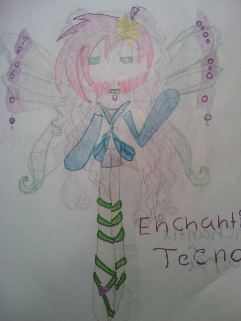 Tecna Enchantix by Winxzafir