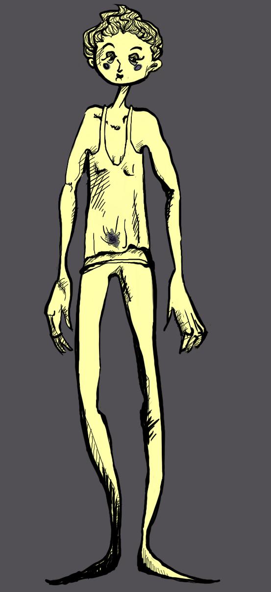 Tall Kid by Selesen