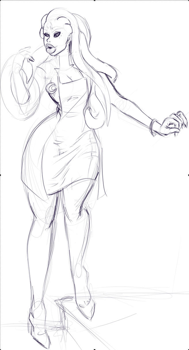 Rheyin Sketch by Vicious713