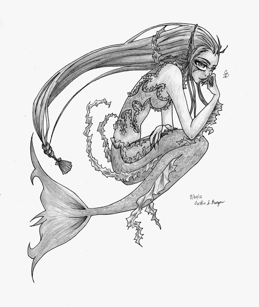 Jellyfish Mermaid by Wonder-land--Art