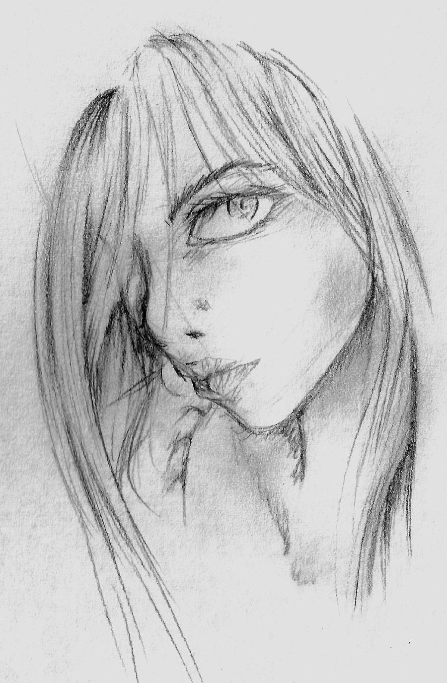 Drawings of anime people in pencil person sketch anime style pencil drawings of anime people