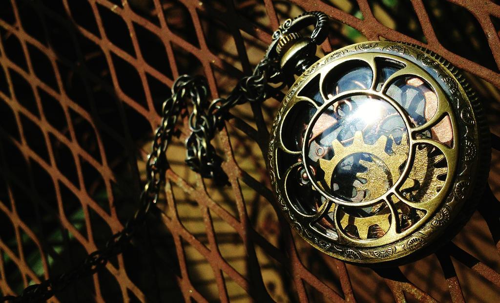 Steampunk Pocket Watch by Wonder-land--Art