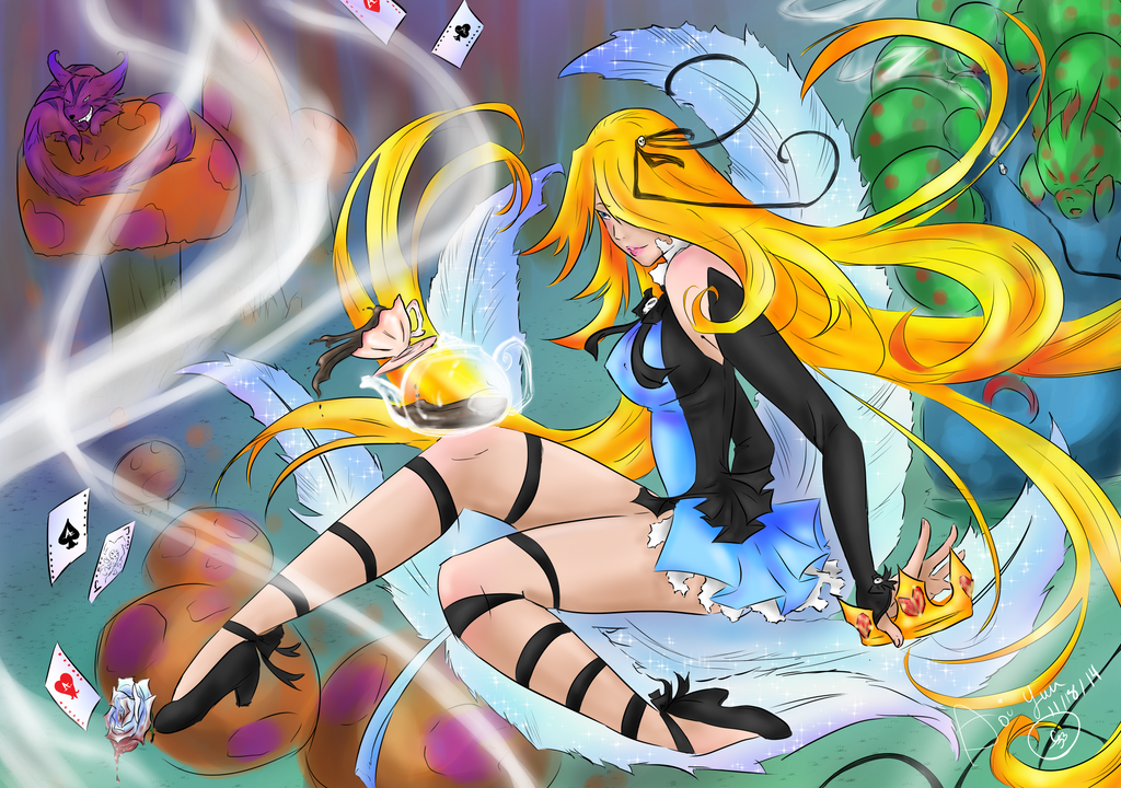 Alice in Wonderland by Wonder-land--Art