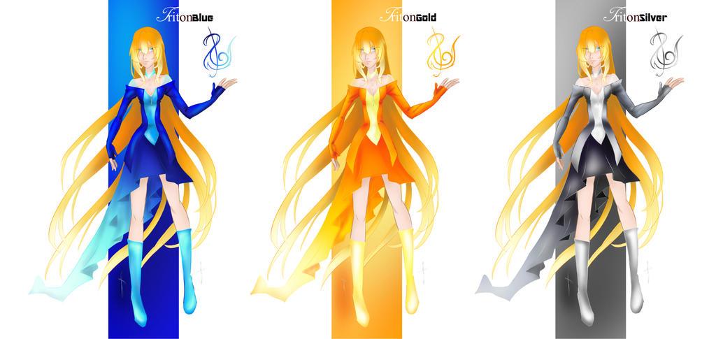 Athena [Triton Outfit Line] by Wonder-land--Art