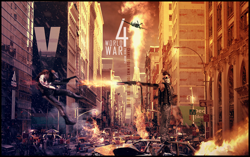 World War 4 - Change your mind by n4design