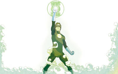 Green Lantern -Out of the Mist