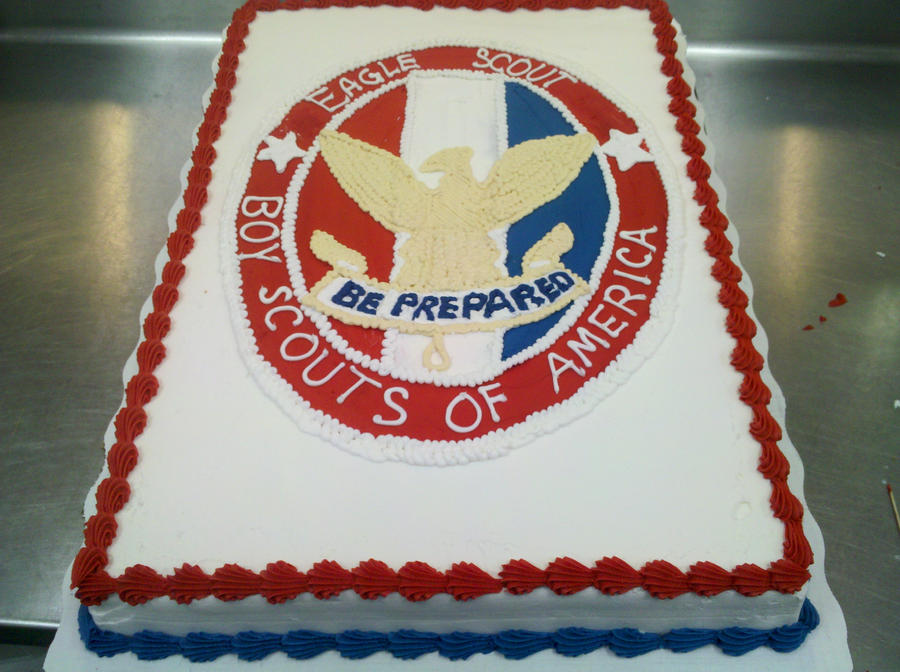 Eagle Scout Cake By KauseNeffect On DeviantArt
