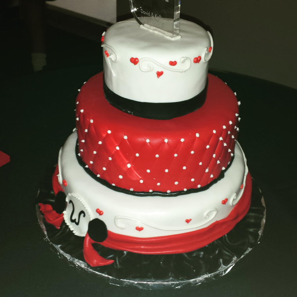 Red and Black Wedding Cake by KauseNeffect on DeviantArt