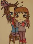 Iysa and Georgie by Pixie-Aztechia