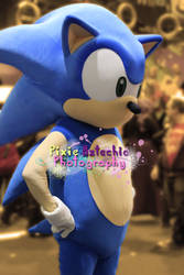 Sonic Cosplay, MCM Expo October 2013