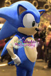 Sonic Cosplay, MCM Expo October 2013 by Pixie-Aztechia