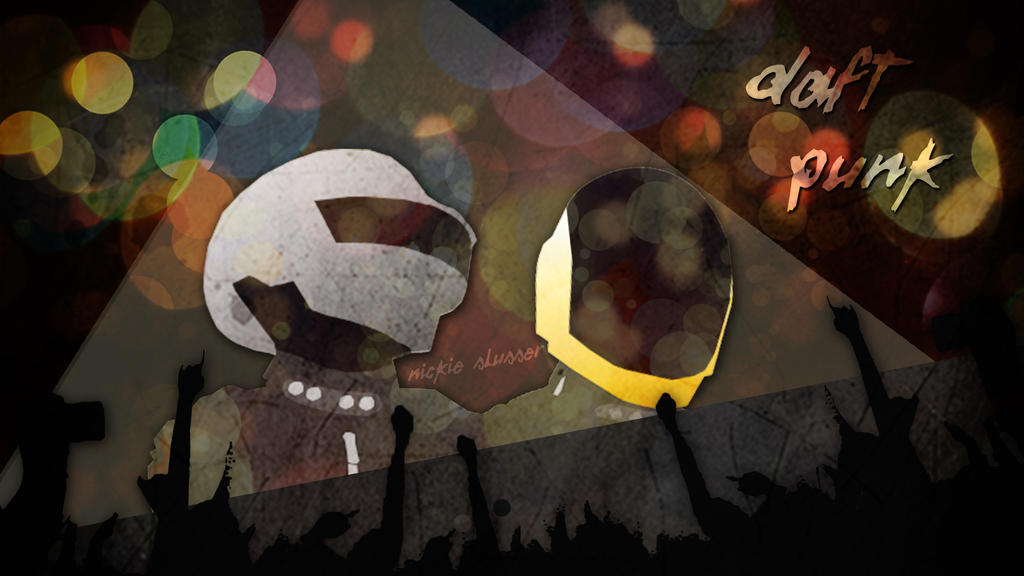 Daft Punk Vector Wallpaper by NightSongWriter