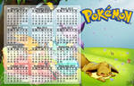 Calendar 2013 - Eevee Party