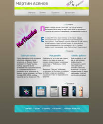 Personal site by No10x
